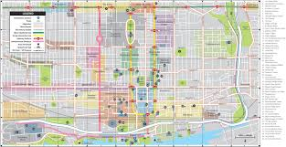 Toronto Canada Map by Toronto City Center Map
