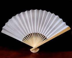 wedding program fan kits fans paper silk folding fans for weddings
