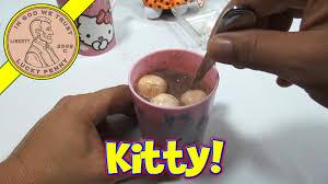 hello kitty plush u0026 making hello kitty chocolate halloween