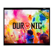screen size for home theater duronic aps60 43 screen only hook u0026 loop wall mountable hd
