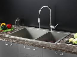 Stainless Steel Faucets Kitchen Impressive Stainless Steel Sink Faucet Nice Kitchen Steel Sink Ss