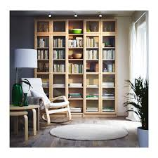 billy oxberg bookcase birch veneer ikea birch and bookcases