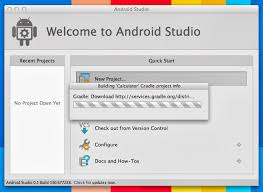 android gradle gradle error while creating new project with android studio