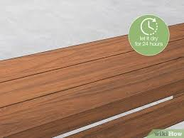 how to stain unfinished pine how to stain pine 15 steps with pictures wikihow