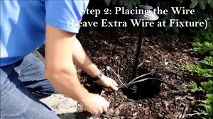 installing low voltage landscape lighting quick and easy youtube
