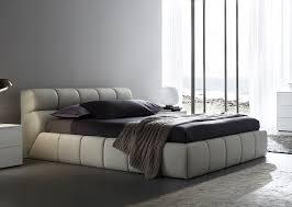 bedrooms tosier bed bedroom platform wood leather modern avant