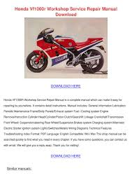 honda vf1000r workshop service repair manual by gertiefarias issuu
