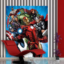 avengers mural wallpaper best images about comic bookavengers avengers bedroom curtains how to decorate kids images about room on pinterest iron man the best