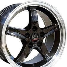 98 mustang cobra wheels amazon com 17x10 5 wheel fits ford mustang cobra r style dd