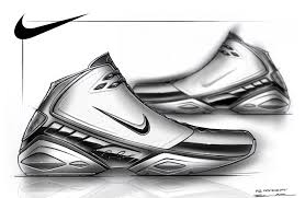 drawn shoe basketball shoe pencil and in color drawn shoe