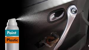 how to paint plastic with spray painting car interior trim youtube