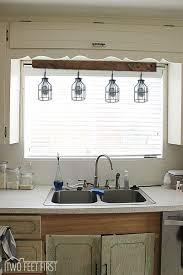 kitchen sink lighting ideas exquisite above kitchen sink lighting design ideas by sofa