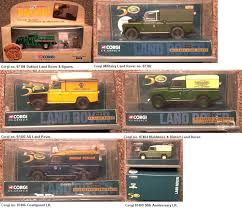 land rover corgi corgi land rover models and sets