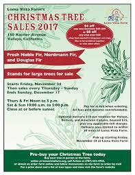 order your christmas tree today loma vista farm