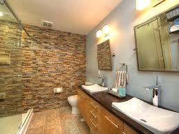 love stacked stone accent walls for a bathroom we have so many