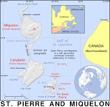 map of st and miquelon and miquelon spm pm country map atlas