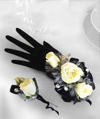 Black And White Corsage Corsages U0026 Boutonnieres Wrist Corsages Fort Lauderdale Artistic Way