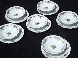 traditions china johann haviland johann haviland new traditions china moss plates and bowls for 6