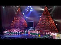 Singing Christmas Tree Lights 2011 Singing Christmas Trees First Orlando Youtube