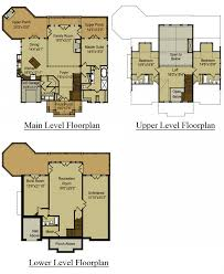 Open Floor House Plans With Loft 3 Story Open Mountain House Floor Plan Asheville Plans With Hahnow
