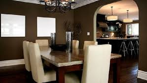 dark brown walls in dining room f66242d49036 house decor picture