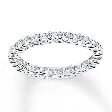 eternity ring diamond eternity ring 1 ct tw cut 14k white gold