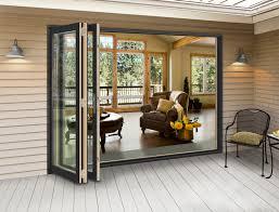 Wooden Bifold Patio Doors Jeld Wen Folding Patio Doors Outdoorlivingdecor