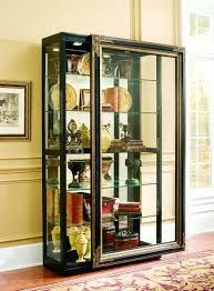 White Living Room Glass Cabinets Furniture Gorgeous White Curio Cabinets Plus Glass Door And