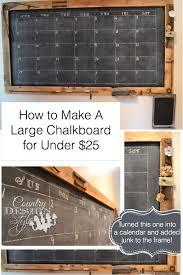 Chalkboard Backsplash by How To Make A Large Chalkboard Large Chalkboard Chalkboards And