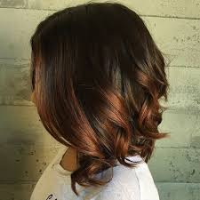 long bob hairstyles with low lights auburn lowlights in chocolate brown hair hair inspiration