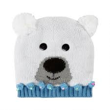 Knit Cap With Led Light Knit Polar Bear Hat With Led Lights Christmas Tree Shops Andthat