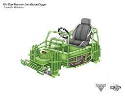 monster truck show madison wi kid trax monster jam gravedigger 12 volt ride on on behance
