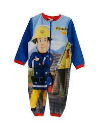 buy toddler kids boy cartoon fireman sam pyjamas cosplay costume