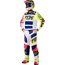 yellow motocross helmets fox racing 2017 mx new v1 falcon navy white yellow dirt bike