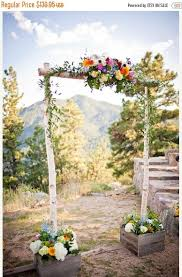 wedding arch for sale sale three birch wedding arch with support boxes arbor