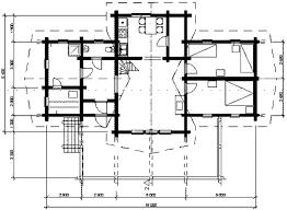plan view three bedrooms plus sauna grand lodge log cabin