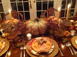 thanksgiving table setting french gardener dishes