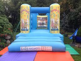 sponge bob square pants cn events bouncy castles