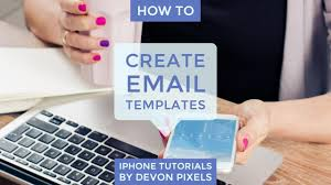 email keyboard layout iphone how to create email templates on an iphone iphone tutorial youtube