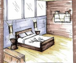 bedroom quick sketch u0026 rendering design by caley pinterest