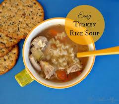 tasty turkey rice soup recipes on chicken rice soup