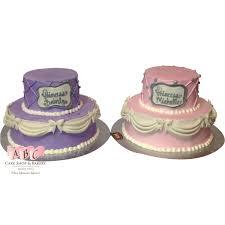 princess cakes 1474 pink purple princess cakes abc cake shop bakery