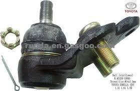 toyota corolla joint joint lower r 43330 19065 toyota corolla e9 1 3i 1 6i 1 8d