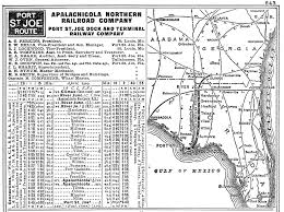Apalachicola Florida Map by The Apalachicola Northern