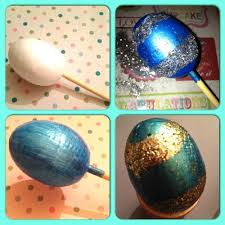 tutorial u2013 decorated polystyrene eggs for easter mummy of many
