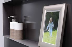 wall mounted shelf contemporary stainless steel bathroom c