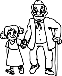 coloring pages of people walking with oldies helping others coloring pages coloring sky