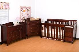 Convertible Crib Changer Furniture 4in1 Convertible Solid Wooden Crib With