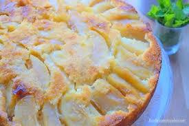 cuisine alg駻ienne gateaux recettes recettes gâteau au yaourt moelleux aux pommes