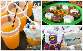 nothing scary about a halloween waterwipes party mommy u0026 me play